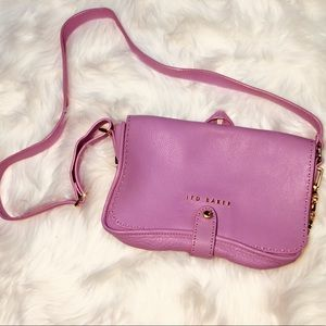 Ted Baker Soft Leather Crossbody purse